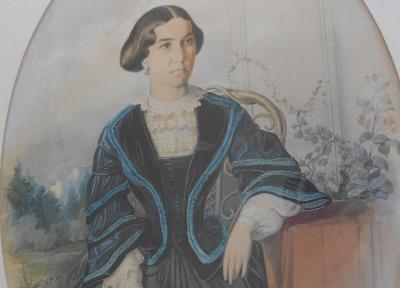 HANS CANON, akvarel kolem 1860