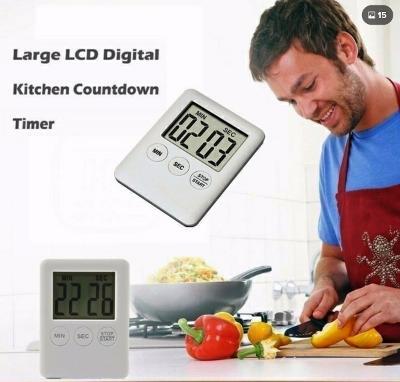Digitální kuchyňská minutka - časovač s magnetem