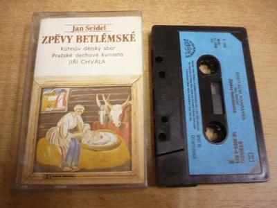 Kazeta: JAN SEIDEL - Zpěvy betlémské