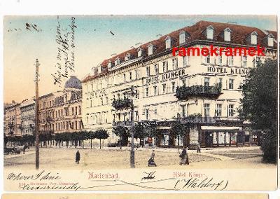 Mariánské Lázně Hotel Klinger DA (Cheb Planá Bečov