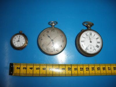 Starožitné kapesní hodinky a stopky na Aukru a2cf3c36621
