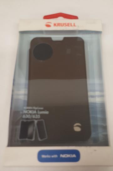Flipové pouzdro pro Nokia Lumia 630/635 černé - Obaly, pouzdra, kapsy