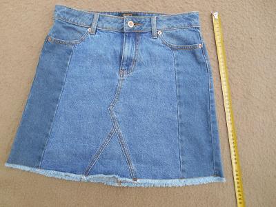 Nová jeans sukně vel. 34 (6934325009) 738c55f4c8