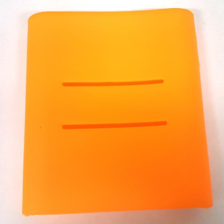 Silikonový obal Xiaomi powerbank 10400 oranžový - Obaly, pouzdra, kapsy