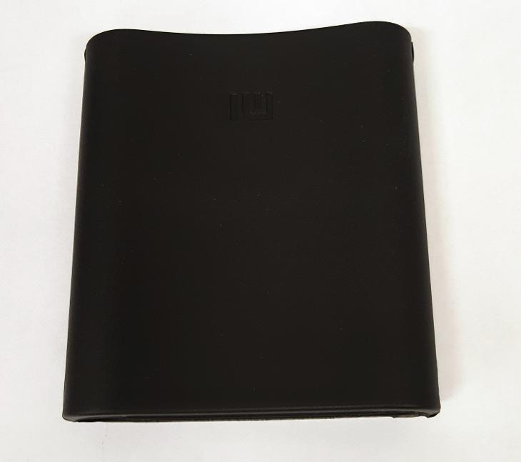 Silikonový obal Xiaomi powerbank 10400 černý - Obaly, pouzdra, kapsy