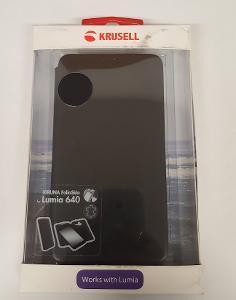 Flipové pouzdro Microsoft Lumia 640 černá