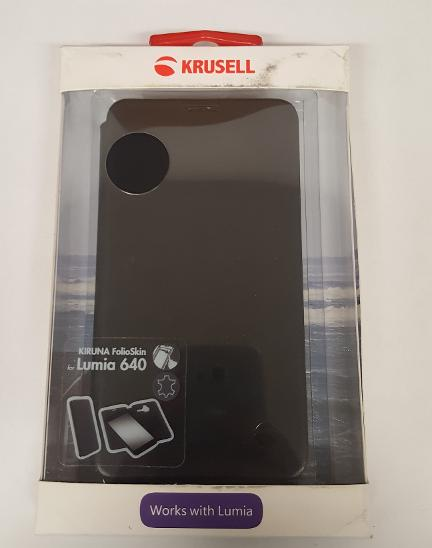 Flipové pouzdro Microsoft Lumia 640 černá - Obaly, pouzdra, kapsy