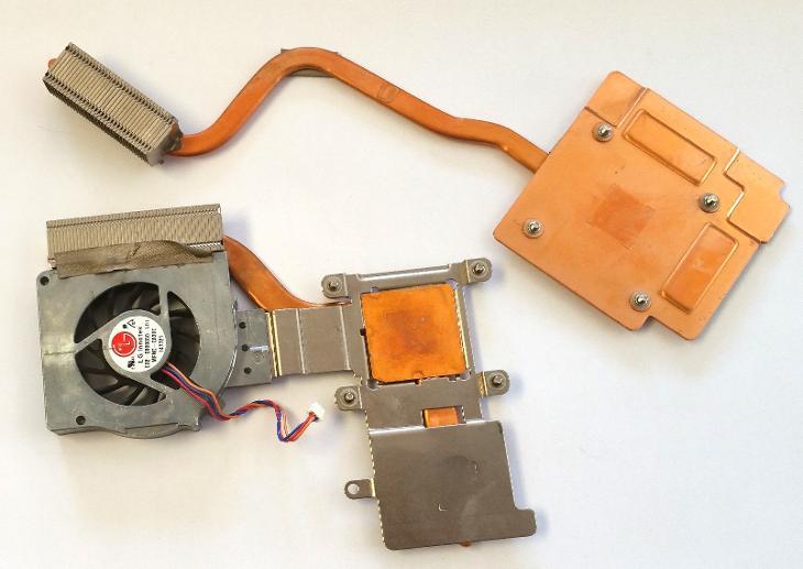 Chlazení E32-0800060 z MSI GX-700X - Notebooky, příslušenství