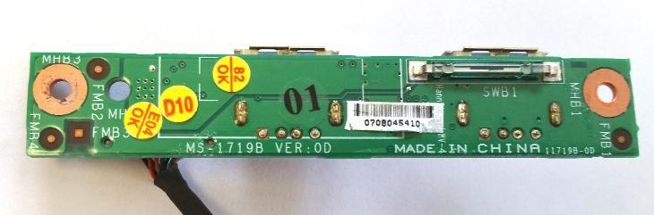 USB board MS-1719B z MSI GX-700X - Notebooky, příslušenství