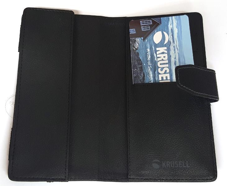 Krusell peněženkové pouzdro VARGÖN WALLETCASE 3XL, černá - Obaly, pouzdra, kapsy