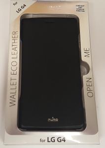 Flipové pouzdro LG G4 s přihrádkou na kartu černé