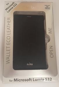 Flipové pouzdro Microsoft Lumia 532 černé