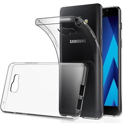 Průhledný tenký zadní kryt obal pro Samsung Galaxy A5/A8 2018
