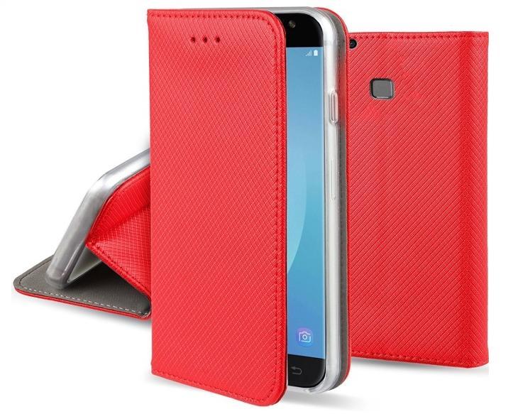 Flipové červené polohovací pouzdro obal MAGNET pro Huawei Nova lite - Obaly, pouzdra, kapsy