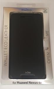 Flipové pouzdro Huawei Nexus 6 černé