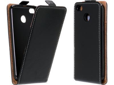 Flipové černé pouzdro obal Flexi pro Lumia 540