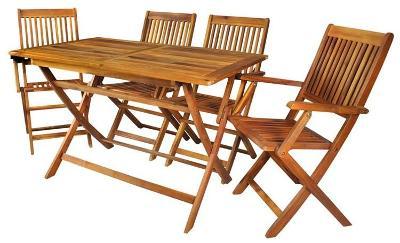 Dřevěný zahradní nábytek-Malatec + STICKY MAT ZDARMA