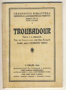 TROUBADOUR - GIUSEPPE VERDI - text od Gamerana