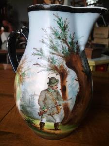 Starý krásný myslivecký džbán pro sběratele