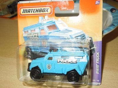 MATCHBOX - SWAT TRUCK