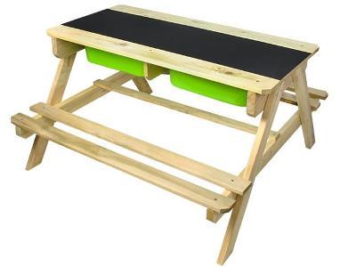 Sada dřevěného nábytku 2w1 + STICKY MAT ZDARMA