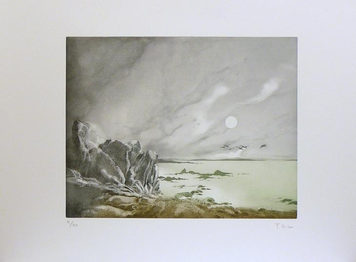 France Hilon - Čekání - Umění
