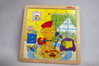 Dětské dřevěné puzzle Eichhorn II.j.  (5707)