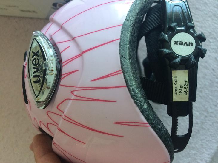 Uvex kid II růžová pro holku - Cyklistika