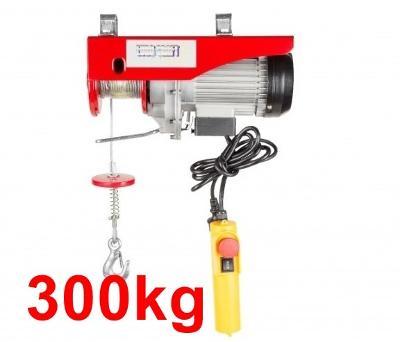 300kg LANOVÝ ELEKTRICKÝ NAVIJÁK kladkostroj ZVEDÁK ---->WOW 1600W