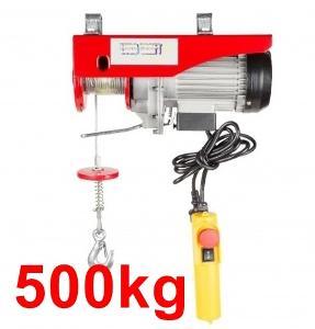 500kg LANOVÝ ELEKTRICKÝ NAVIJÁK kladkostroj ZVEDÁK ---->WOW 1600W