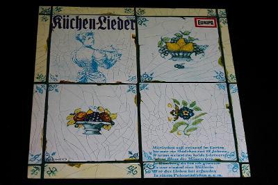 LP - Various - Küchenlieder    (d19)