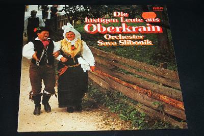 LP - Sava Slibonik- Die lustigen Leute aus Oberkrain    (d19)