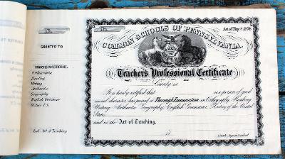 Common Schools of Pennsylvania, 33 kusů v albu