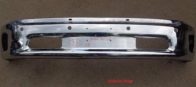 Dodge Ram 13-18 ,chromovaný přední nárazník