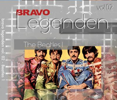 BRAVO 4 x DVD BEATLES 1963 - 1992