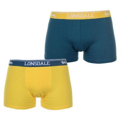 Pánské boxerky/trenky zn. LONSDALE,dvojbalení - L
