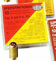 Náboje  9mm  Pepřový, pro plyn.pistole, 10ks