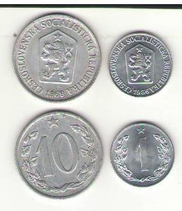 ČSR 10 hal 1969 a 1 hal 1986 !