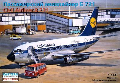 Eastern Express 14415 Letadlo Boeing 737-100 (B-731) 1:144