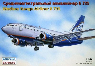 Eastern Express 14420 Letadlo Boeing 737-500 B-735 1:144