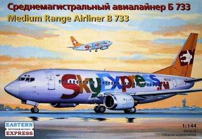 Eastern Express 14422 Letadlo Boeing 737-300 B-733 1:144