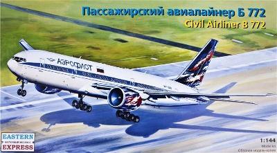 Eastern Express 14440 Letadlo Boeing 777-200 B 772 AEROFLOT 1:144