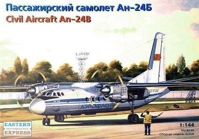Eastern Express 14461 Letadlo AN-24B AEROFLOT 1:144