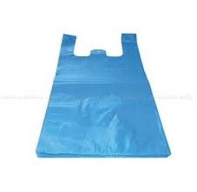 Mikrotenová taška 4kg modrá,balení 0,180g