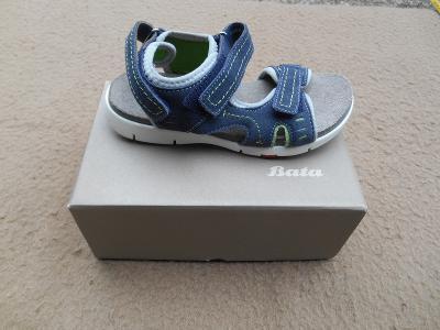 Nové dětské kožené sandály zn.. BAŤA vel. 33 (6933201428) 4a429b438c