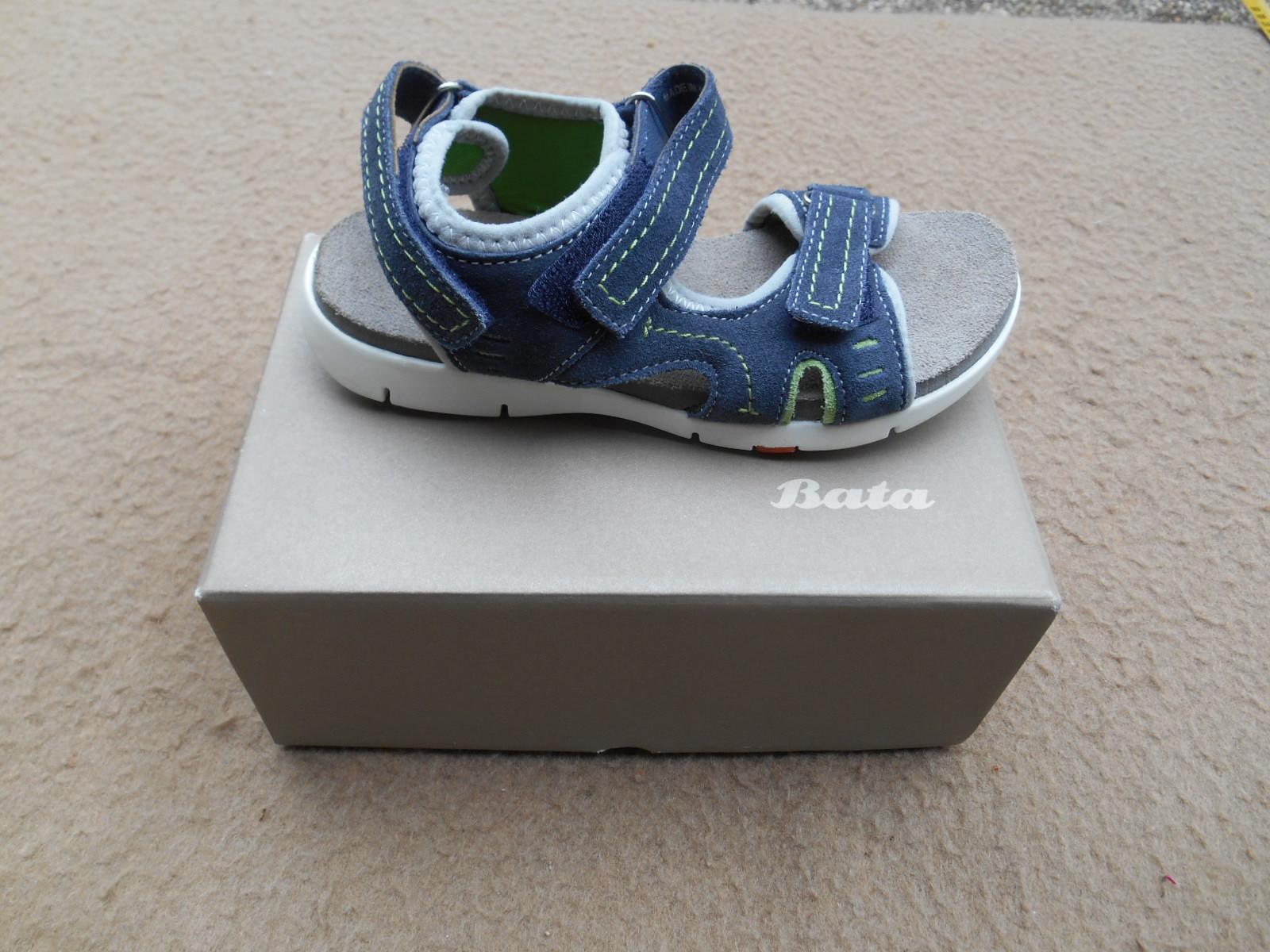 9cfb6fa08e8 Nové dětské kožené sandály zn.. BAŤA vel. 33