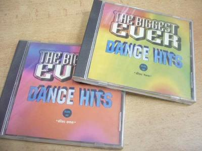 2 CD THE BIGGEST EVER DANCE HITS CD1 a CD2