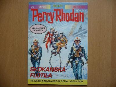 Perry Rhodan - číslo 29. - Skokanská flotila