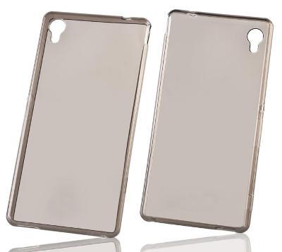 Průhledný kouřový tenký zadní kryt obal pro iPhone 5 5S SE