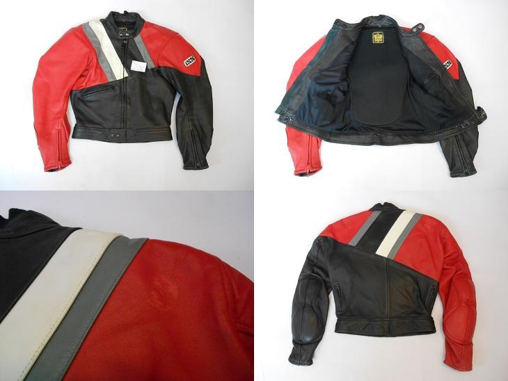 Kožená bunda IXS vel. 46- oděrka - Náhradní díly a příslušenství pro motocykly